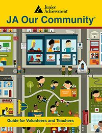 JA Our Community curriculum cover